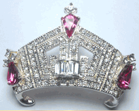 Miss America / Outstanding Teen Crown Pin